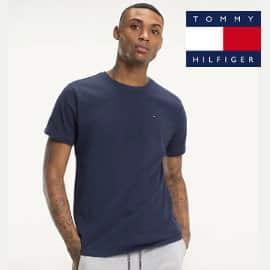 Camiseta Tommy Jeans regular barata, camisetas de marca baratas, ofertas en ropa