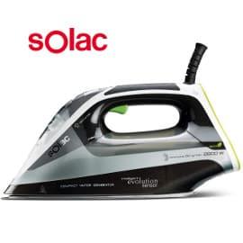 ¡Precio mínimo histórico! Centro de planchado compacto Solac CVG9512 Intelligent Evolution sólo 47 euros. 52% de descuento.