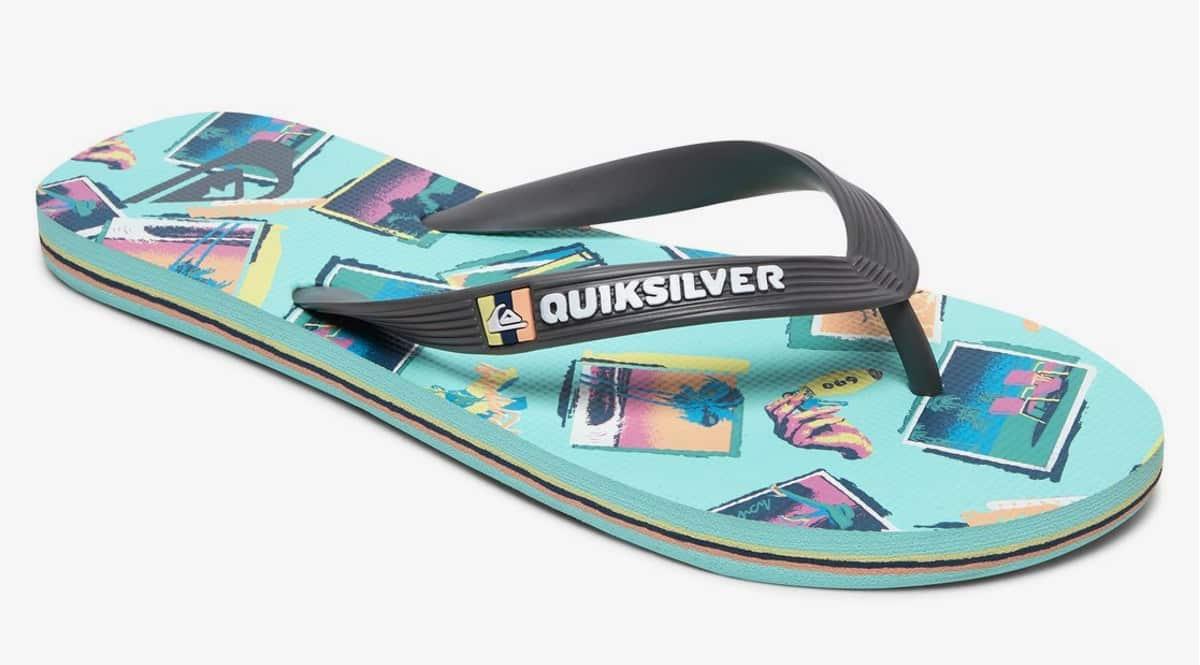 Chanclas Quiksilver Molokai Vacancy baratas, chanclas de marca baratas, ofertas en calzado, chollo