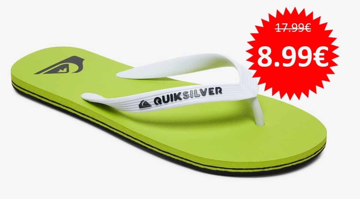 Chanclas Quiksilver Molokai baratas. Ofertas en calzado, calzado barato, chollo