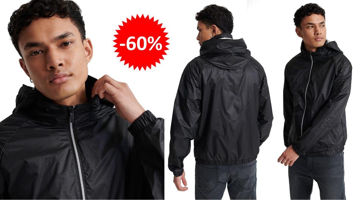 Chaqueta de entretiempo Superdry Sky Chaser barata, ropa de marca barata, ofertas en chaquetas chollo