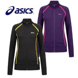 Chaqueta de mujer Asics Full Zip barata, ropa de marca barata, ofertas en chaquetas