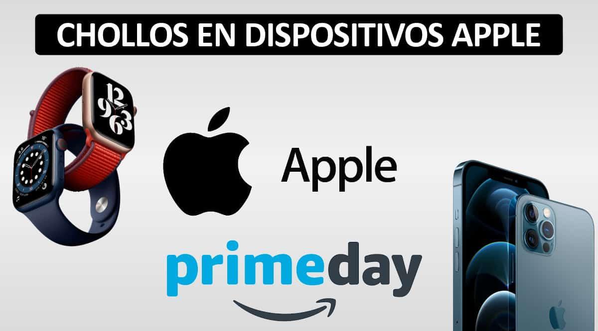 Chollos en dispositivos Apple en el Prime Day 2021, iPhone 12 barato, ofertas Apple Watch, chollo