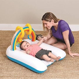 Colchoneta cambiador bebé Bestway Up, In & Over barata, colchonetas hinchables baratas, ofertas para niños