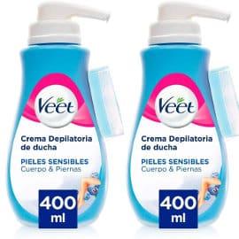 Crema depilatoria corporal Veet ducha barata, crema depilatoria de marca barata, ofertas supermercado
