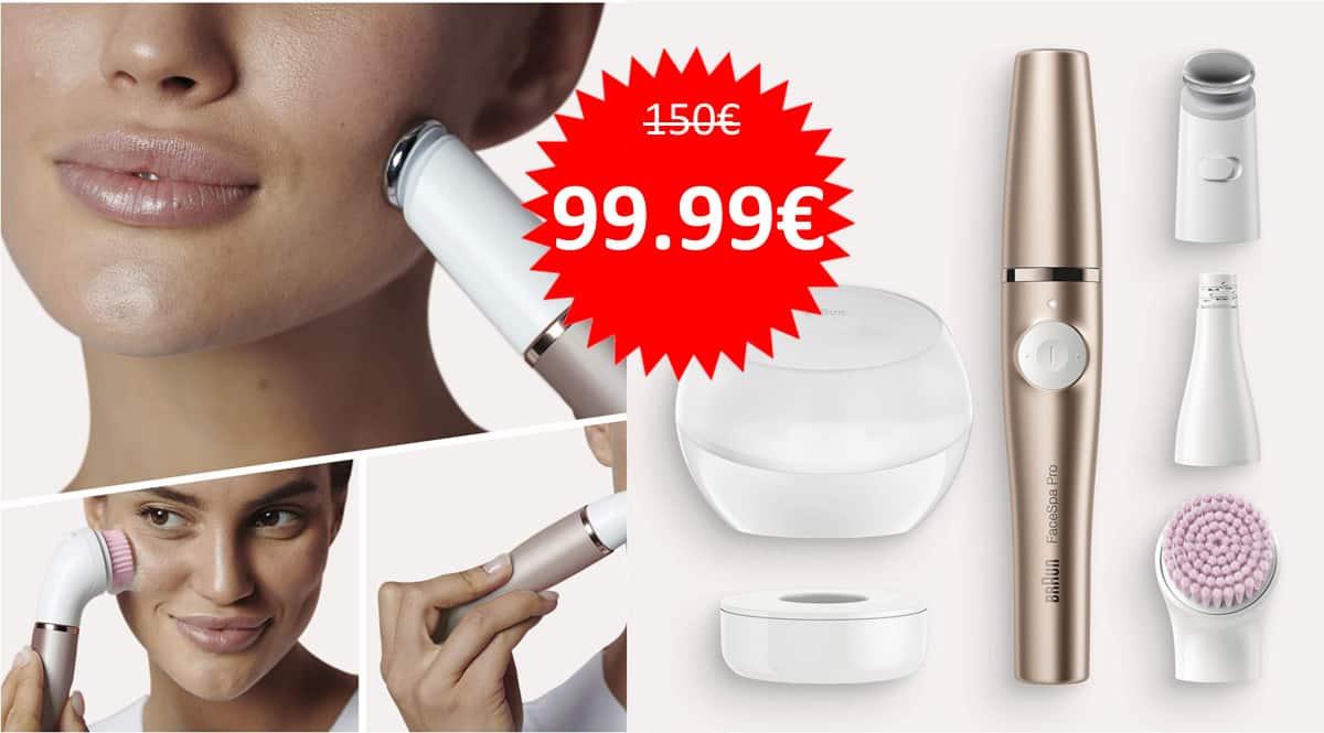 Depiladora facial Braun FaceSpa Pro 921 barata. Ofertas en depiladoras faciales, depiladoras faciales baratas, chollo