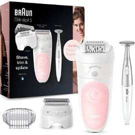 Depiladora suave Braun Silk-épil 5 5-820 barata, depiladoras de marca baratas, ofertas en belleza