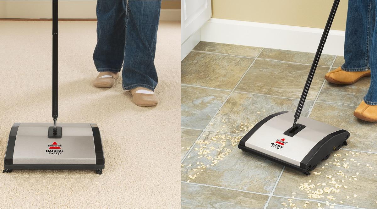 Escoba manual de aspiración BISSELL Natural Sweep Manual Sweeper barata, escobas baratas, ofertas hogar, chollo