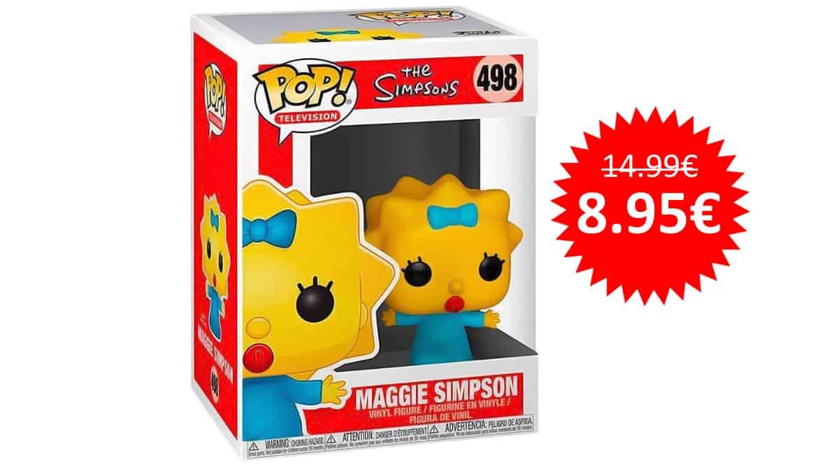 ¡¡Chollo!! Funko Pop! The Simpsons – Maggie Simpson sólo 8.95 euros.