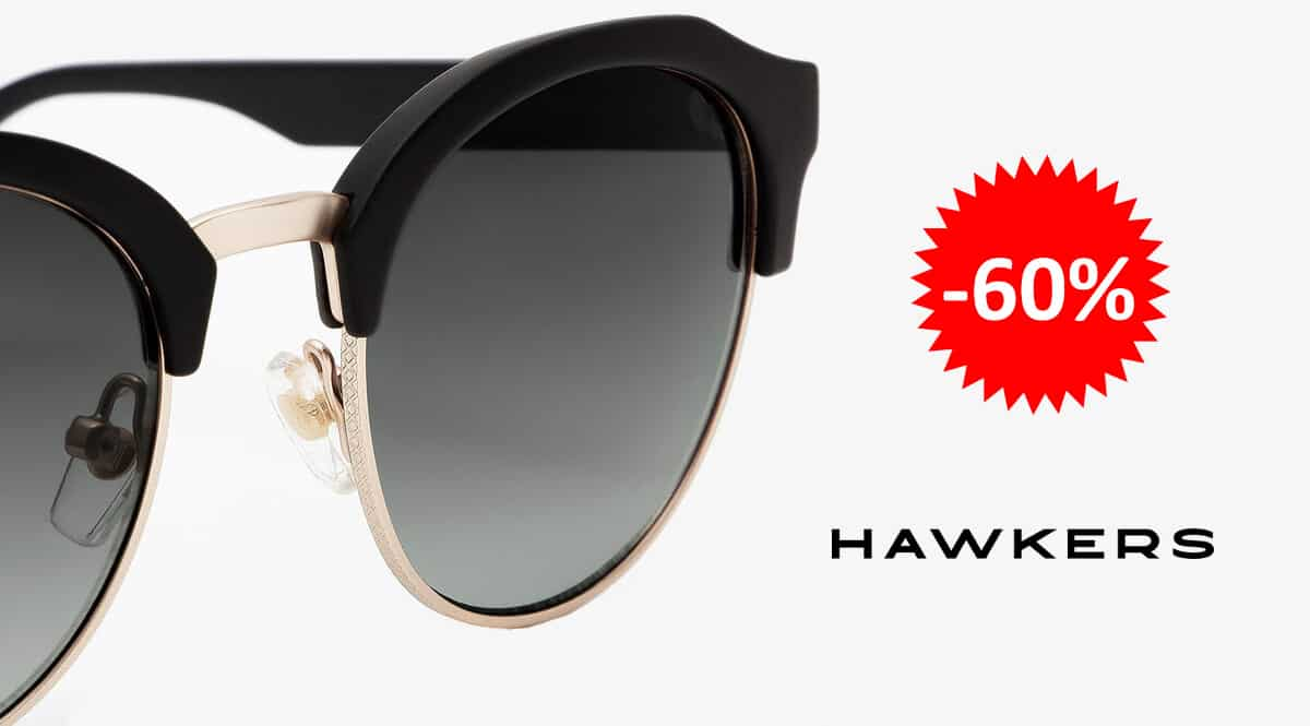 Gafas de sol Hawkers Classic Rounded baratas, gafas de sol baratas, ofertas en complementos chollo