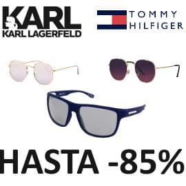 Gafas de sol Tommy Hilfiger, Karl Lagerfeld baratas, gafas de sol de marca baratas, ofertas en gafas