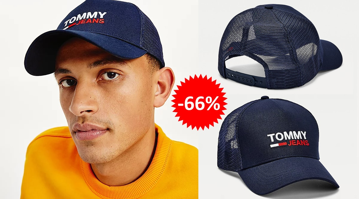 Gorra Tommy Jeans Trucker barata, ropa de marca barata, ofertas en complementos chollo