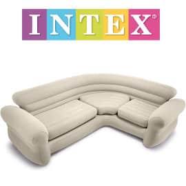 Intex Sofá Indoor Corner Inflable barato, sofás hinchables de marca baratos, ofertas hogar