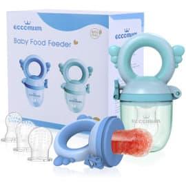 Juego de chupetes de alimentación antiahogo para bebé Eccomun barato, artículos para bebé de marca baratos, ofertas para niños
