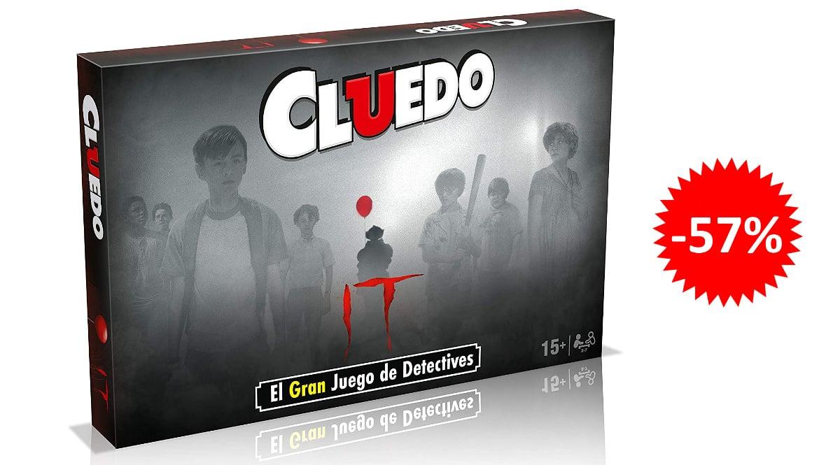 Juego de mesa Cluedo It barato, juegos de mesa baratos, ofertas en juguetes chollo