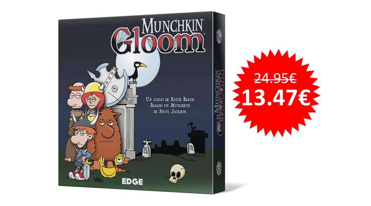 ¡¡Chollo!! Juego de mesa Munchkin Gloom de Edge Entertainment sólo 13.47 euros.