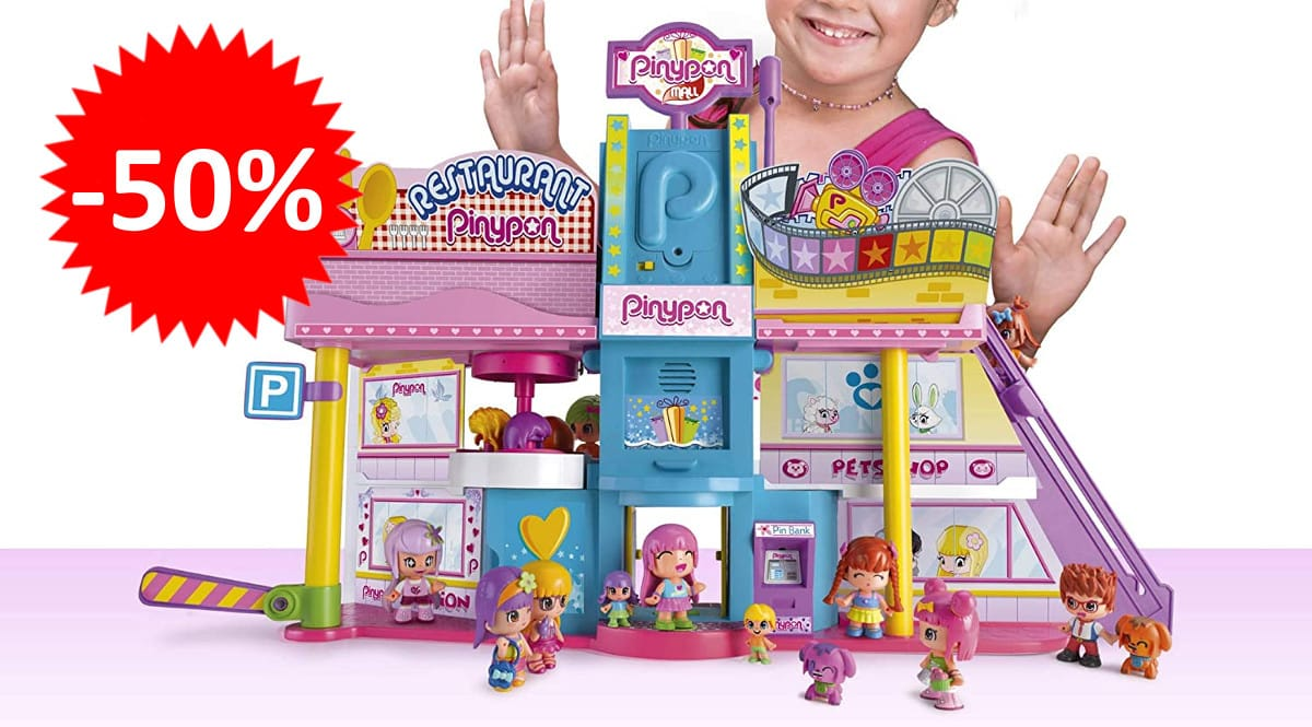 Juguete Pinypon Super Centro Comercial barato. Ofertas en juguetes, juguetes baratos,chollo