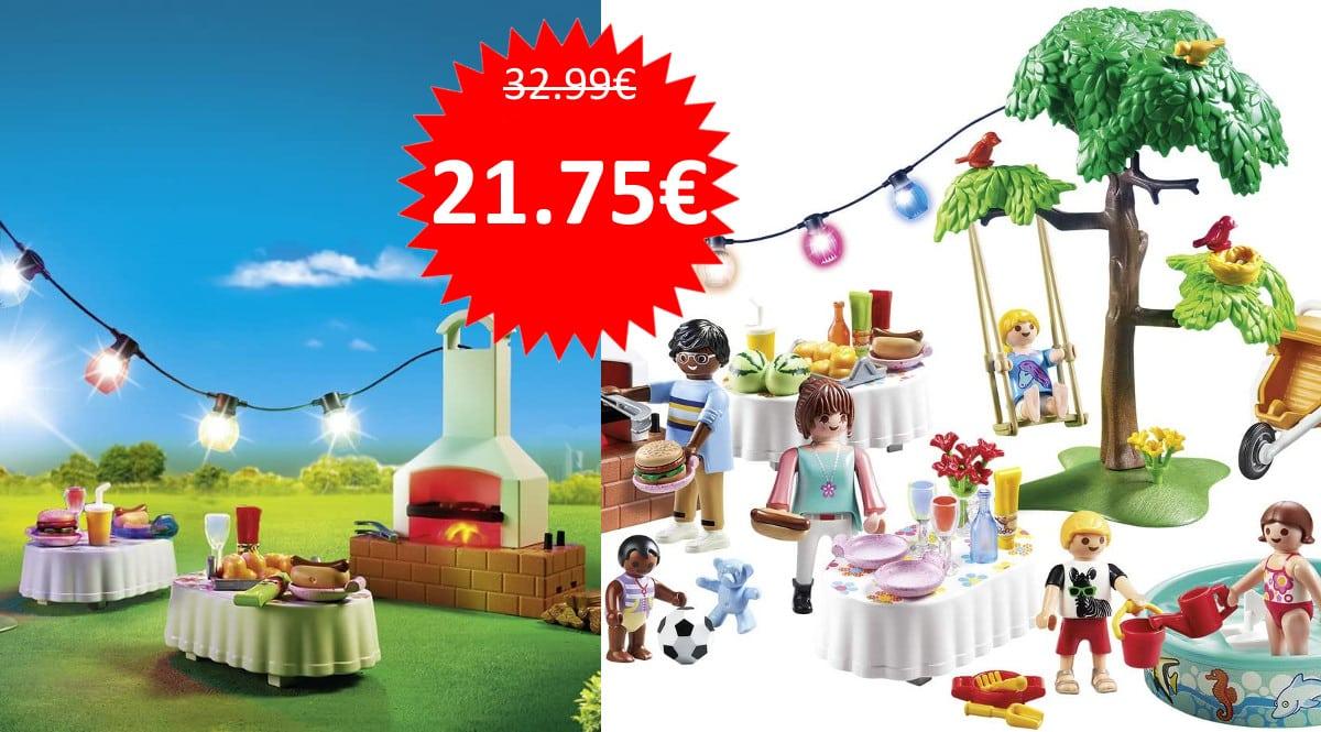 Juguete Playmobil - Fiesta en el Jardín barato. Ofertas en juguetes, juguetes baratos, chollo