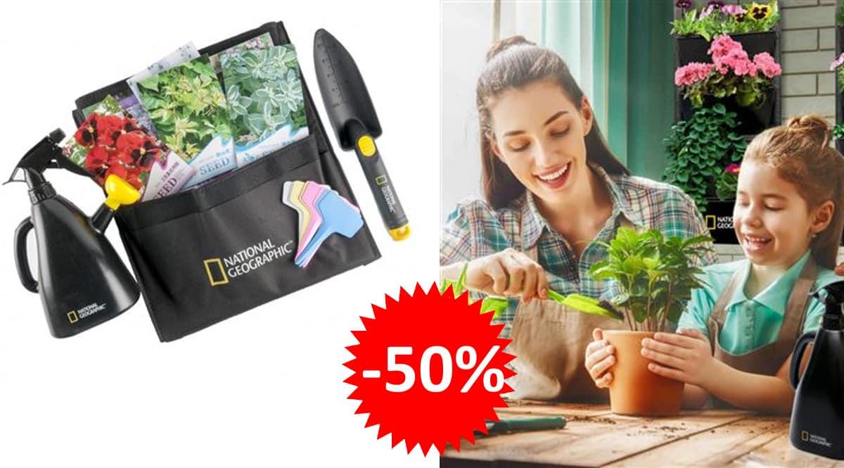 Kit Jardín vertical National Geographic barato, artículos jardinería baratos, ofertas hogar, chollo