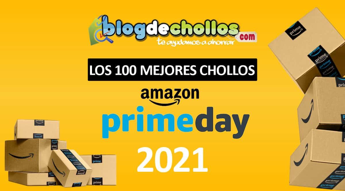 Los 100 mejores chollos del Prime Day 2021, las mejores ofertas del Prime Day, chollos Prime Day 2021, chollo