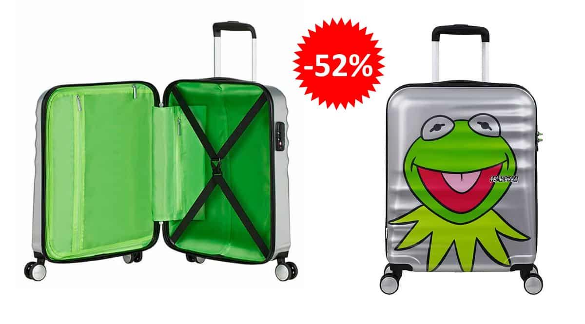 Maleta American Tourister Wavebreaker Disney Muppets barata, maletas baratas, ofertas en maletas chollo