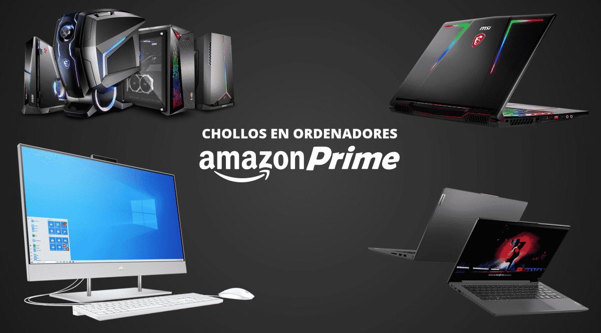 Los 20 mejores chollos en ordenadores de Amazon Prime Day 2021, chollo