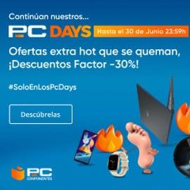 ¡Último día! PcDays en PCComponentes: selección de las mejores ofertas.