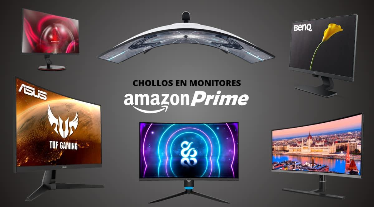 ¿Buscas monitor para tu PC? Aquí tienes 14 chollos que han salido en el Prime Day de Amazon.