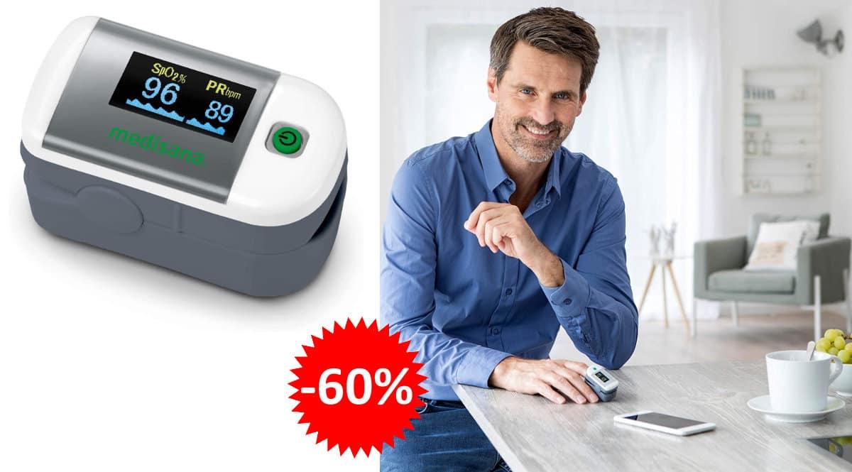 Oxímetro Medisana PM 100 barato, oxímetros de marca baratos, ofertas en salud, chollo