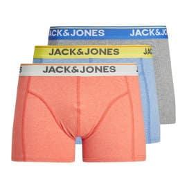 Pack de 3 boxers Jack & Jones Milton baratos, ropa de marca barata, ofertas en ropa interior