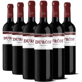 ¡Código descuento! 6 botellas de vino Durón Crianza 2017 D.O.Ca. Rioja sólo 29 euros.