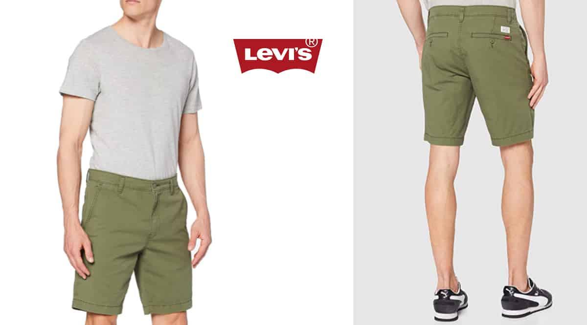 Pantalón corto Levi's XX Chino Taper Short II barato, pantalones cortos baratos, ofertas en ropa, chollo