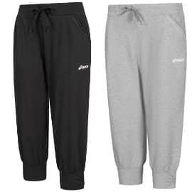 Pantalones de chándal para mujer Asics Capri baratos, ropa de marca barata, ofertas en ropa deportiva