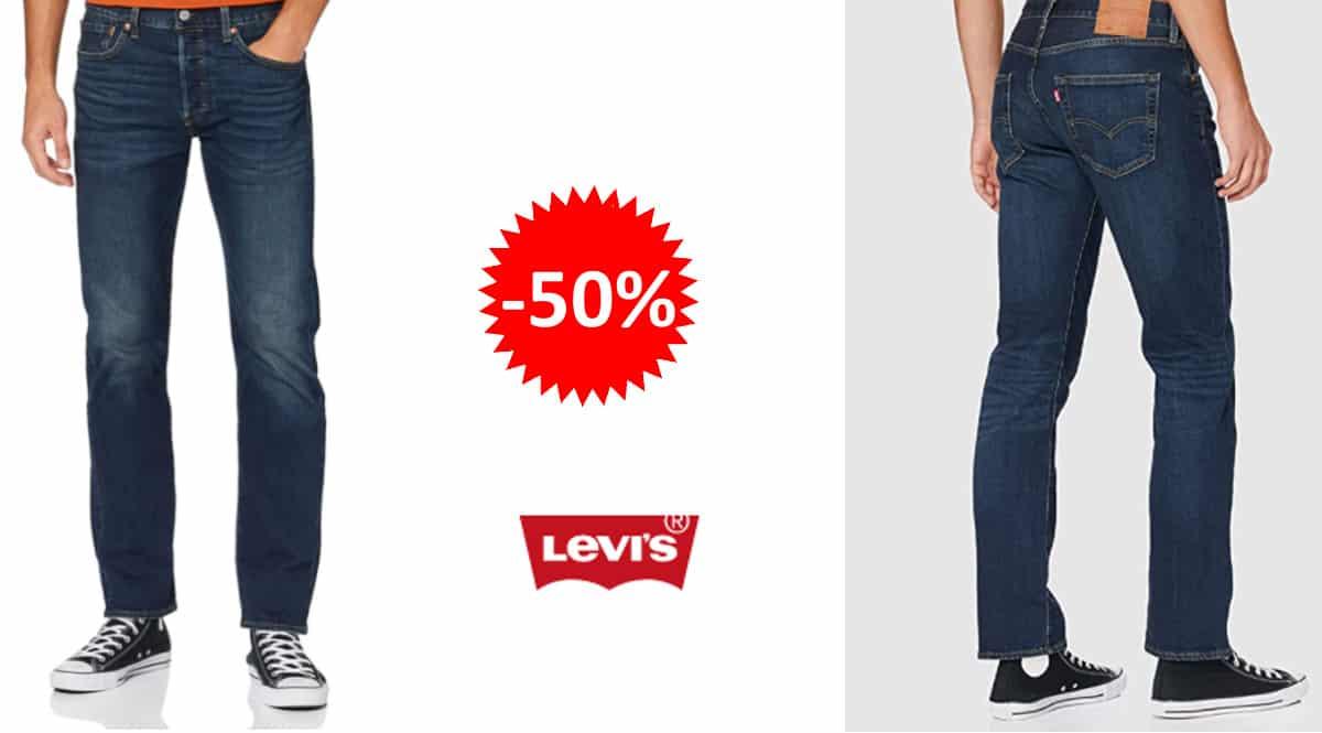 Pantalones vaqueros Levi's 501 Original baratos, vaqueros de marca baratos, ofertas en ropa, chollo