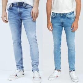 Pantalones vaqueros Pepe Jeans Finsbury baratos. Ofertas en ropa de marca, ropa de marca barata