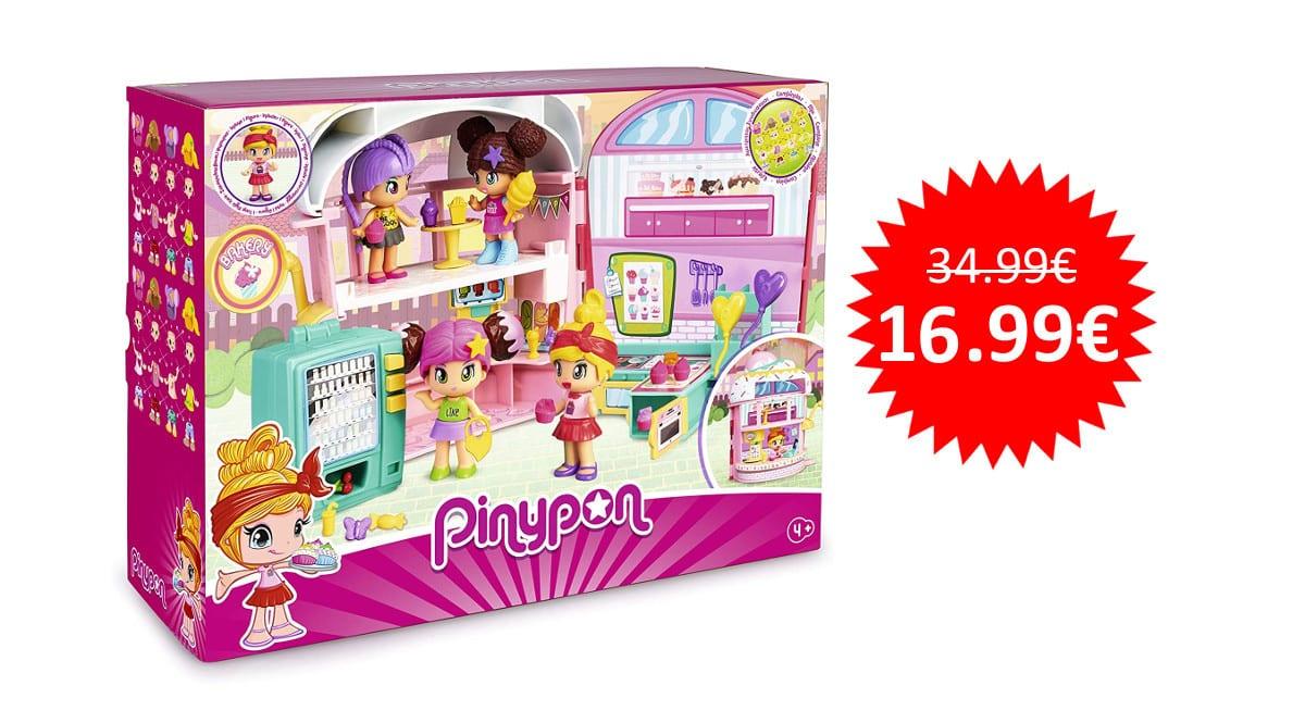 ¡Precio mínimo histórico! Pastelería Pinypon sólo 16.99 euros.