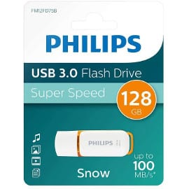 ¡Precio mínimo histórico! Pendrive Philips USB 3.0 de 128GB sólo 10.79 euros.