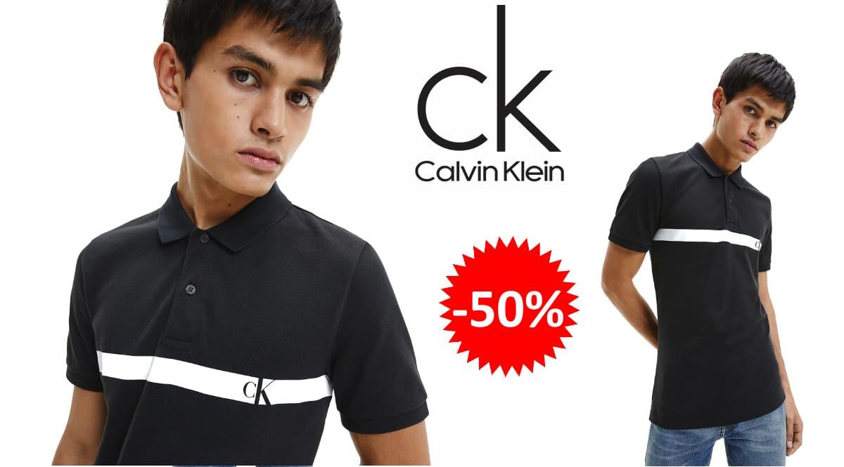 Polo Calvin Klein Horizontal barato, polos de marca baratos, ofertas en ropa.,chollo