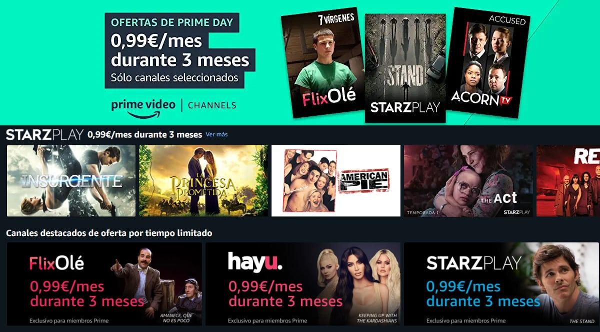 ¿Qué ver en Flixolé, Starzplay, Hayu, Acorn TV y MUBI? ¡Prime Video Channels por sólo 0.99 euros al mes los 3 primeros meses!