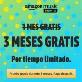 Promoción Amazon Music Unlimited