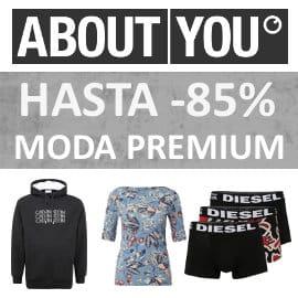 Rebajas en marcas Premium About You, ropa de marca barata, ofertas en ropa