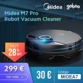 Robot aspirador Midea M7 Pro barato, ofertas en robots aspiradores, robots aspiradores baratos
