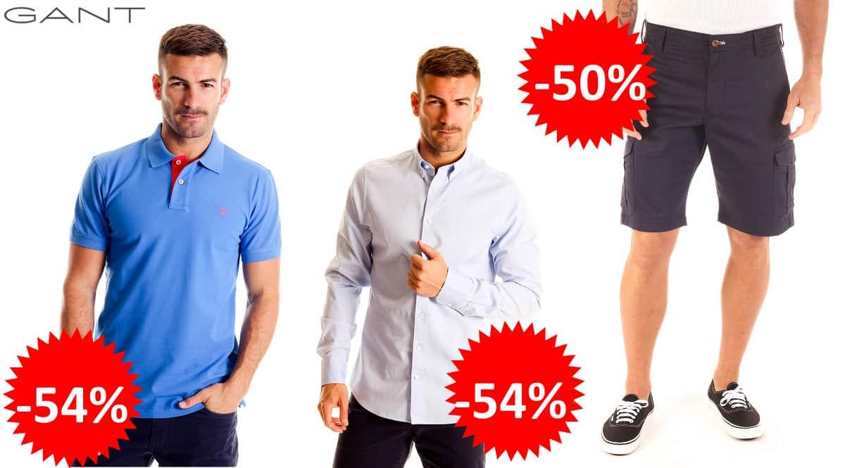 Ropa Gant para hombre barata, ropa de marca barata, ofertas en ropa