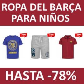 Ropa del Barça para niños barata, ropa de marca barata, ofertas para niños
