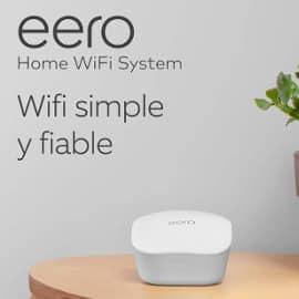 ¡Chollo previo Prime Day! Router/extensor WiFi de malla Amazon eero sólo 64 euros.
