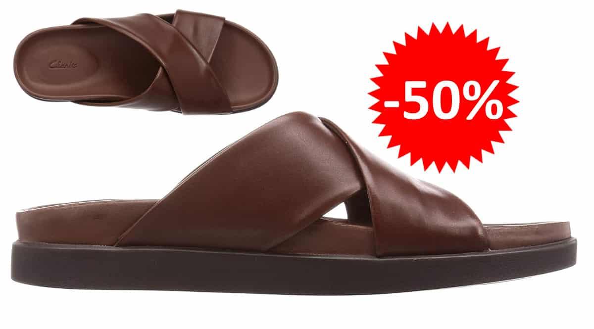 Sandalias Clarks Sunder Cross baratas. Ofertas en calzado de marca, calzado de marca barato, chollo