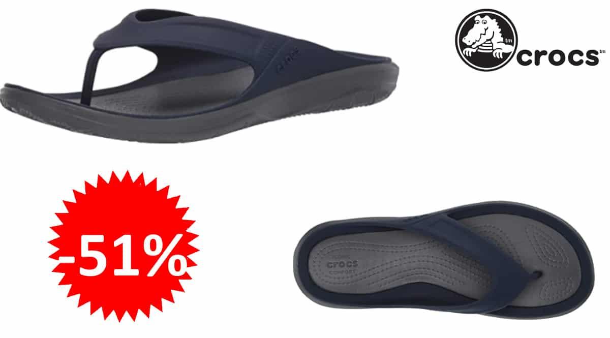 Sandalias Crocs Swiftwater Mossy Oak Wave baratas, chanclas de marca baratas, ofertas en calzado, chollo