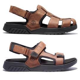 Sandalias de piel Timberland Anchor Watch baratas, calzado de marca barato, ofertas en sandalias
