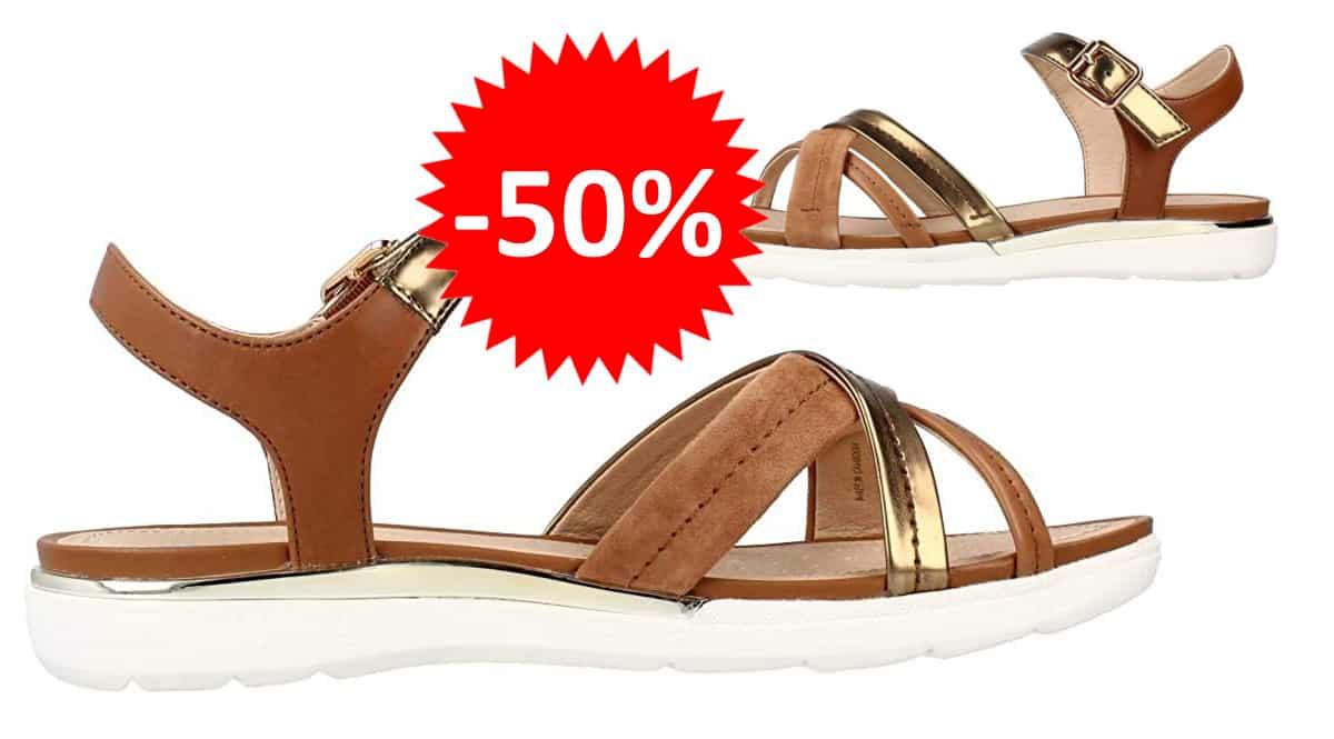 Sandalias para mujer Geox Hiver baratas. Ofertas en calzado de marca, calzado de marca barato, chollo