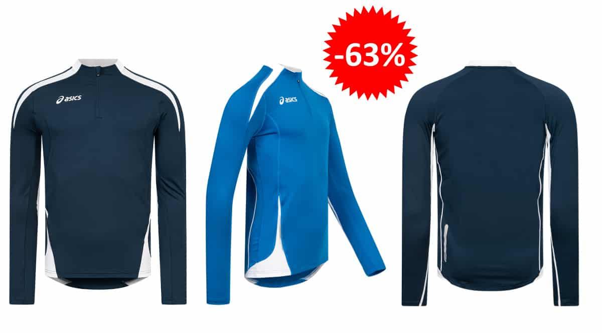 Sudadera de running Asics Crew Sweat Ben barata, ropa de marca barata, ofertas en material deportivo chollo